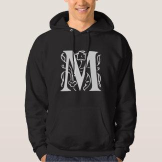 Fancy Letter M Hooded Sweatshirts