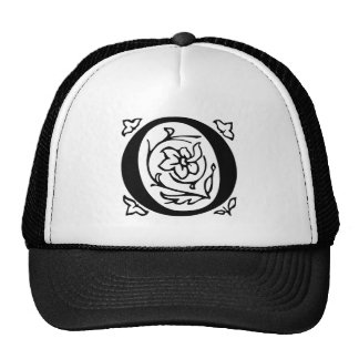 Fancy Letter O Trucker Hat