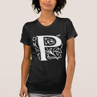 Fancy Letter P T-Shirt