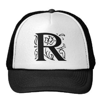 Fancy Letter R Trucker Hat