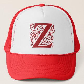 Fancy Letter Z Trucker Hat