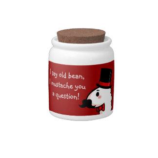 Fancy Llama Cookie Jar Candy Dish