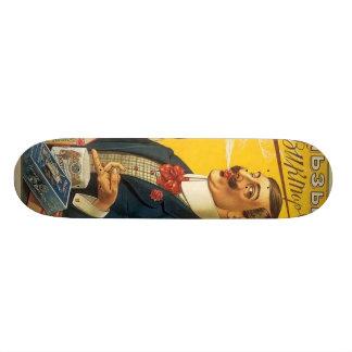 Fancy Man Smoking Skate Board Decks