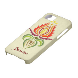 Fancy Mantle Embroidery - Hungarian Folk Art iPhone 5 Cover