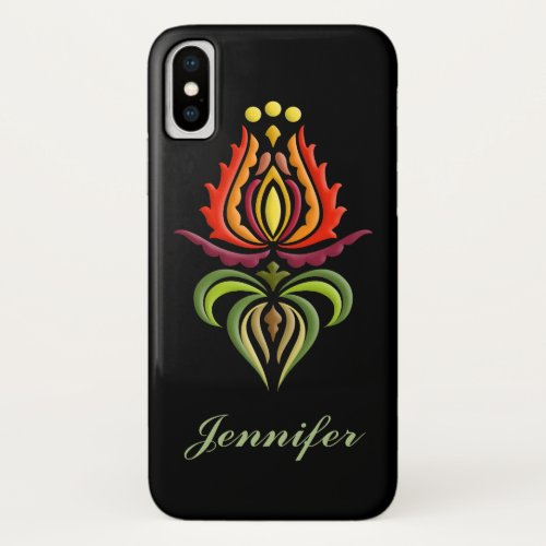 Fancy Mantle Embroidery - Hungarian Folk Art Phone Case