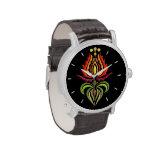 Fancy Mantle Embroidery - Hungarian Folk Art Wristwatch