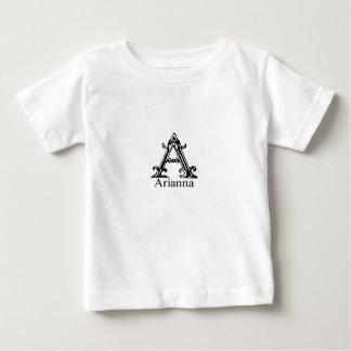 Fancy Monogram: Arianna Baby T-Shirt