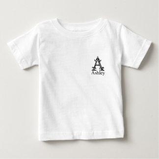 Fancy Monogram: Ashley Baby T-Shirt
