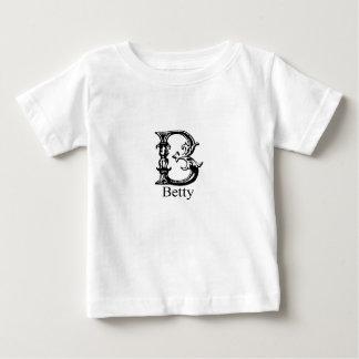 Fancy Monogram: Betty Baby T-Shirt