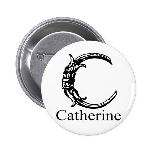 Fancy Monogram: Catherine Pin