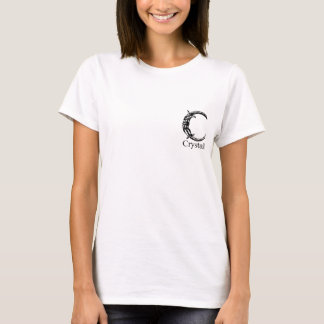 Fancy Monogram: Crystal T-Shirt