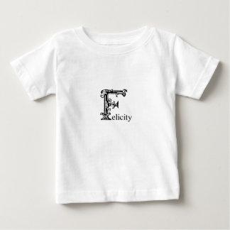 Fancy Monogram: Felicity Tee Shirts