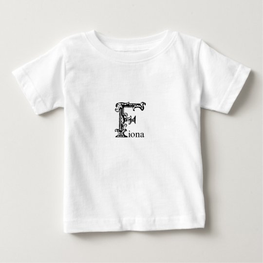 Fancy Monogram: Fiona Baby T-Shirt