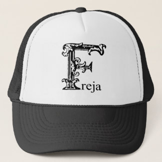 Fancy Monogram: Freja Trucker Hat