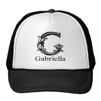 Fancy Monogram: Gabriella Trucker Hat