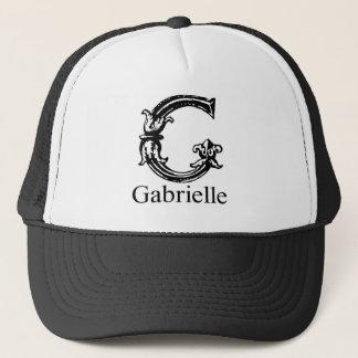 Fancy Monogram: Gabrielle Trucker Hat