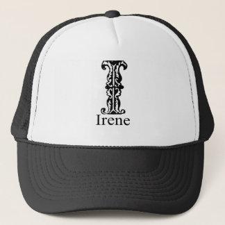 Fancy Monogram: Irene Trucker Hat