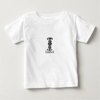 Fancy Monogram: Isabel Baby T-Shirt