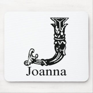 Fancy Monogram: Joanna Mouse Pad