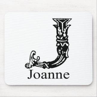Fancy Monogram: Joanne Mouse Pad