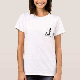 Fancy Monogram: Johanna T-Shirt