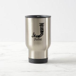 Fancy Monogram: Julie Travel Mug