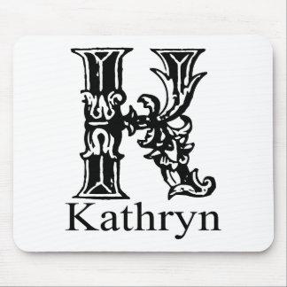 Fancy Monogram: Kathryn Mouse Pad