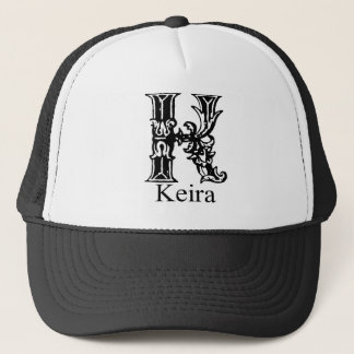 Fancy Monogram: Keira Trucker Hat