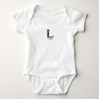 Fancy Monogram: Lynn Baby Bodysuit