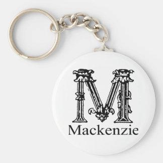 Fancy Monogram: Mackenzie Keychain