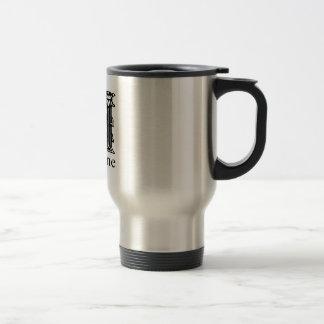 Fancy Monogram: Madeline Coffee Mugs