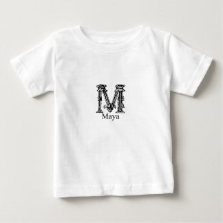 Fancy Monogram: Maya T-shirt