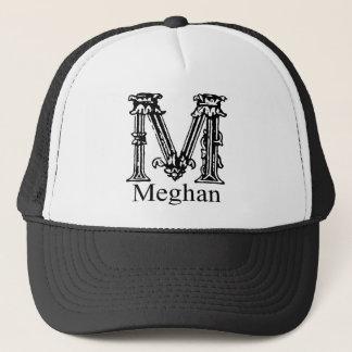 Fancy Monogram: Meghan Trucker Hat
