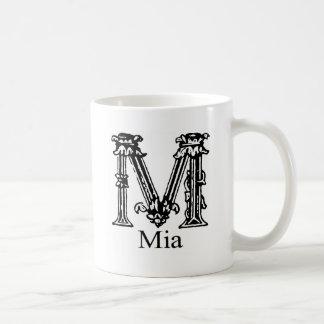 Fancy Monogram: Mia Coffee Mug