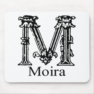 Fancy Monogram: Moira Mouse Pad