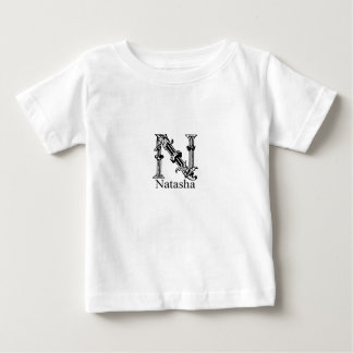 Fancy Monogram: Natasha Baby T-Shirt