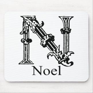 Fancy Monogram: Noel Mouse Pad