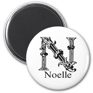 Fancy Monogram: Noelle Magnet