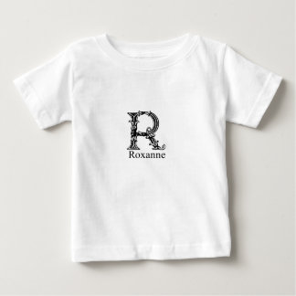 Fancy Monogram: Roxanne Baby T-Shirt