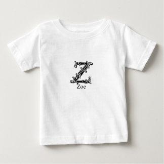 Fancy Monogram: Zoe Baby T-Shirt
