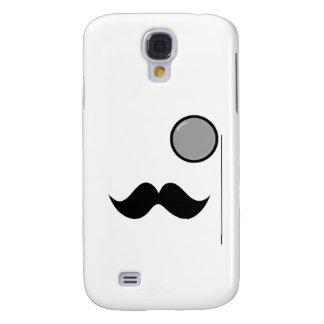 Fancy Mustache & Monocle Galaxy S4 Covers
