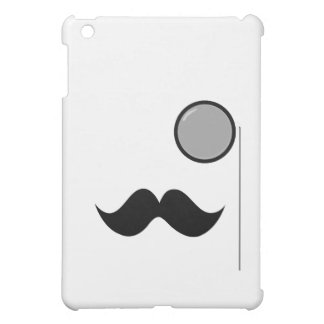 Fancy Mustache & Monocle Case For The iPad Mini
