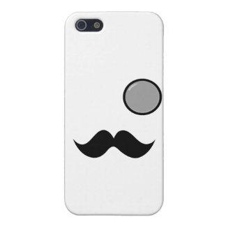 Fancy Mustache & Monocle iPhone 5 Case