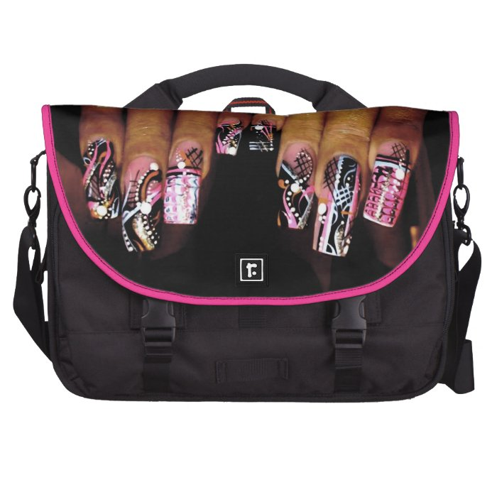 FANCY NAIL COMMUTER LAPTOP CARRIER AND MORE LAPTOP BAGS
