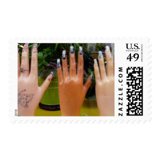 Fancy Nails Postage