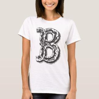 Fancy Old Style Font Monogram Letter B T-Shirt