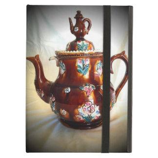 Fancy Ornate Antique English Teapot Coffee Pot iPad Air Cases