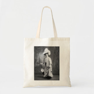 Fancy Outfit, early 1900s Tote Bags