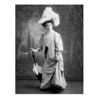 Fancy Outfit, early 1900s Post Cards