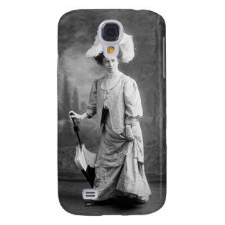 Fancy Outfit, early 1900s Samsung Galaxy S4 Case